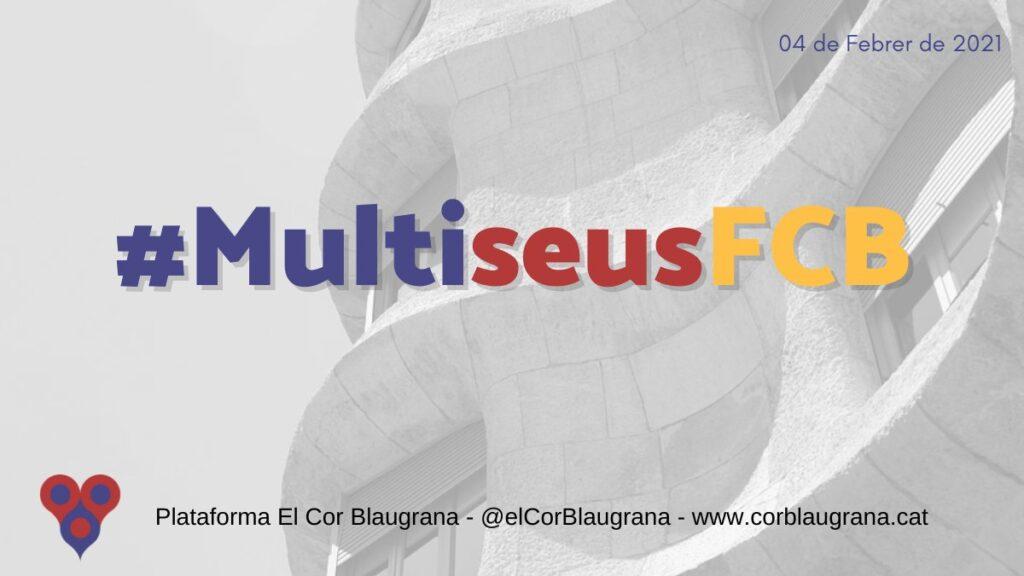 Campanya #MultiseusFCB, per tenir més seus electorals i afavorir la particiació a les eleccions del FC Barcelona