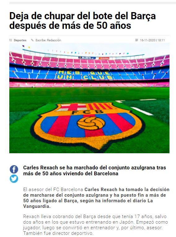 Aquest és el llegat del Sandro Rosell i tots els seus homes de confianca que han passant pel FC Barcelona des de 2010 fins a 2021.