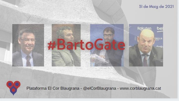 Bartomeu detingut pel cas #BartoGate
