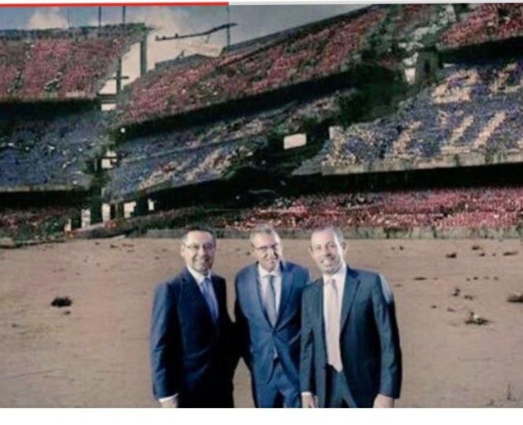 Destrucció FC Barcelona